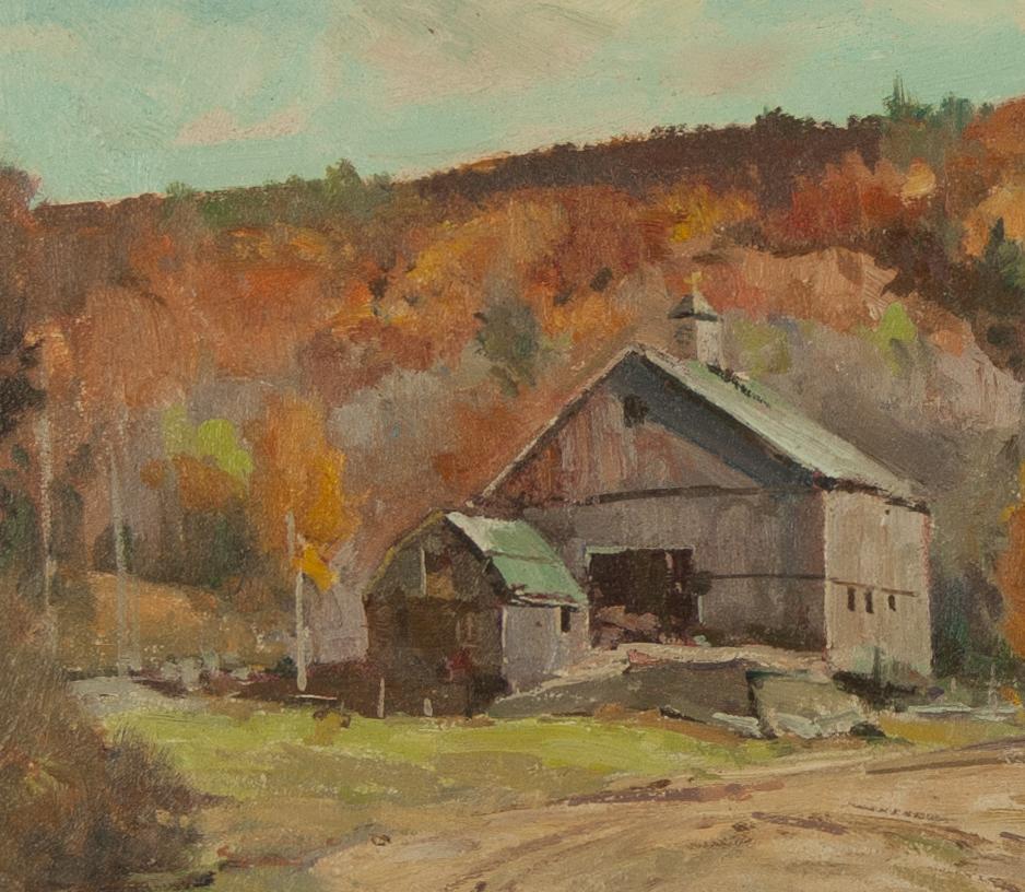 Massachusetts Farm: Bernard Corey Dudley Massachusetts Farm New England