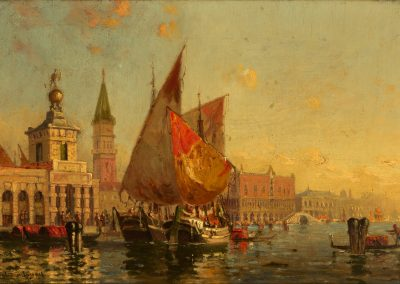 WHISTLER HOUSE MUSEUM OF ART  -Allure of Venice, Walter Franklin Lansil