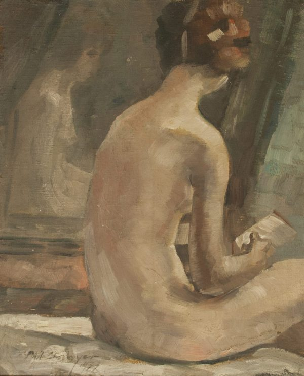 Philip Ayer Sawyer Nude Oil Painting at Fry Fine Art
