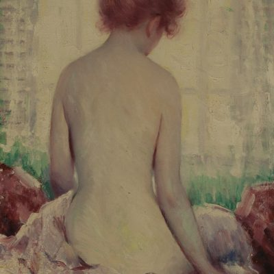 Murray Percival Bewley Nude Oil Painting at Fry Fine Art
