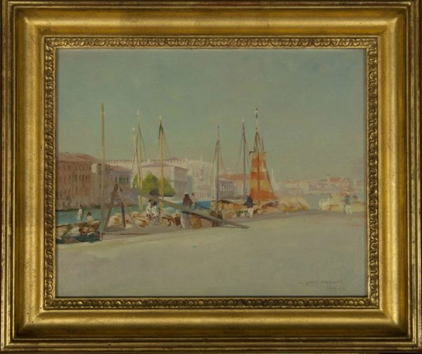 Thomas Frederick Mason Sheard View of Venice Oil Painting for sale at Fry Fine Art