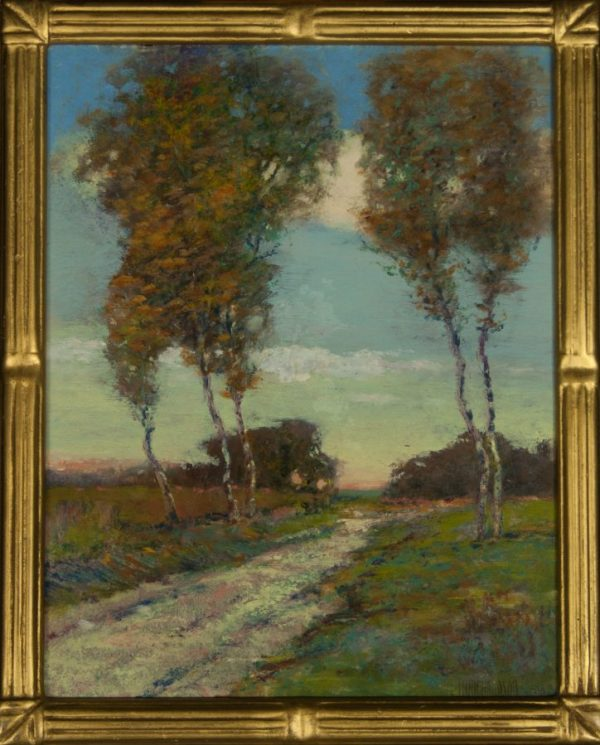 Louis H. Richardson (1852-1923) From New Bedford, Massachusetts Oil painting of New England Landscape