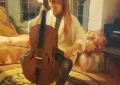 The Cello Lesson